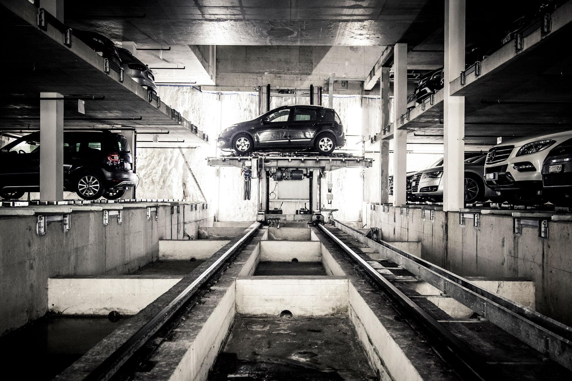 parcheggi auto computerizzati